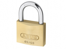 ABUS 65/50 50mm Brass Padlock Carded