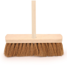 12inch Coco Broom c/w Handle