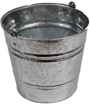 Galvanised Contractors Bucket