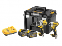 Dewalt XRP Cordless 3 Speed Twin Pack c/w 2 x 6Ah Batts