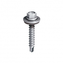 Ejot 5.5x35 Hex Head Tek Screw St/Stl c/w Washer (Box 100)