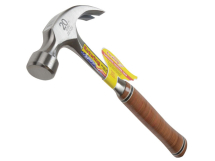 Estwing E20C Curved Claw Hammer Leather Grip 20z