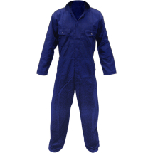 P/Cotton Boilersuit Navy (M)