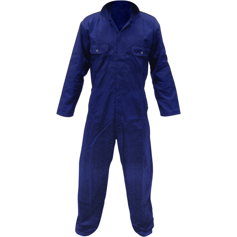 P/Cotton Boilersuit Navy (L)
