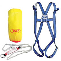 Harness c/w 1.8mtr Full Arrest Lanyard & Scaffold Hook