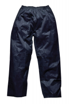 Navy Rain Trousers Size (M)