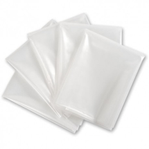 Clear Rubble Sack 500g (Pack 100)