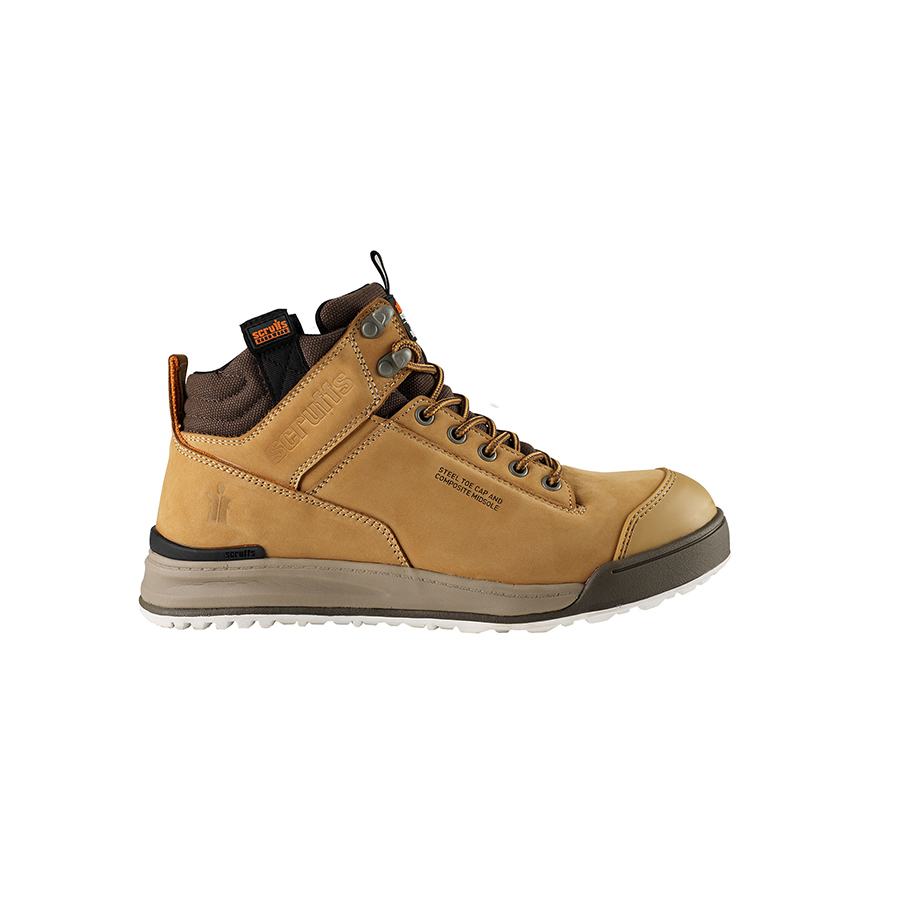 Scruffs Switchback Tan Boot (Sz 7)