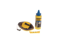 Stanley Power Winder Chalk Line 30mtr, Chalk & Level
